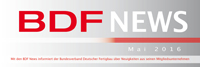 BDF News Mai 2016