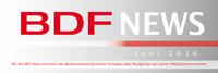 BDF NEWS Juni 2016