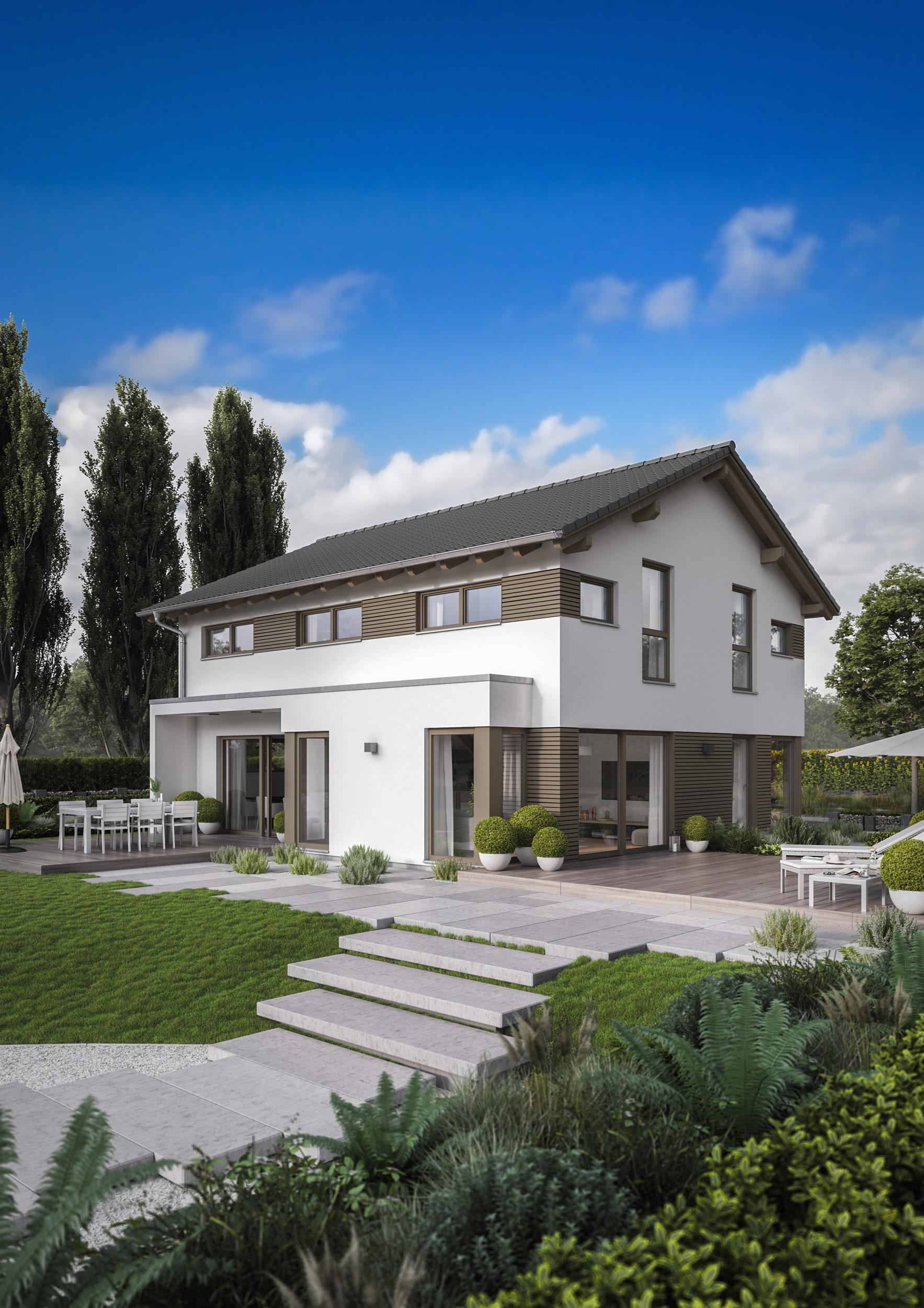 fingerhaus fertighaus musterhaus fellbach. Black Bedroom Furniture Sets. Home Design Ideas